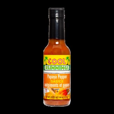 Cool Runnings Papaya Pepper Sauce - 148ml