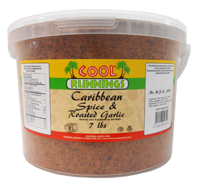 Cool Runnings - Caribbean Spice & Roasted Garlic - 7 lbs.