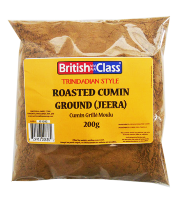 British Class Roasted Cumin Ground (Jeera) - 200g