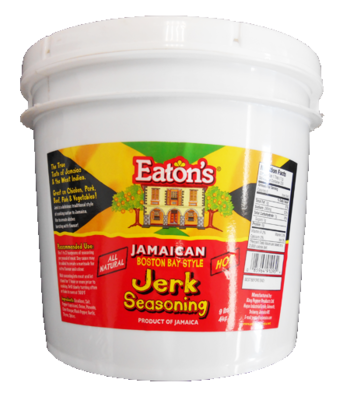 Eaton's Boston Bay Style Jerk Seasoning (Hot) - 9 lbs Pail