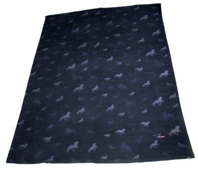 Karlslund Fleece Blanket w/Horses