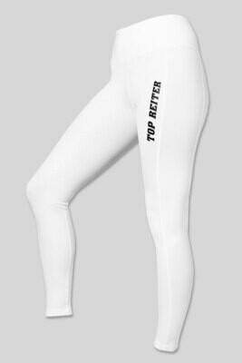 Top Reiter - BODYSHAPE Riding Leggings White