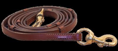 Karlslund - Leather Reins w/Stoppers