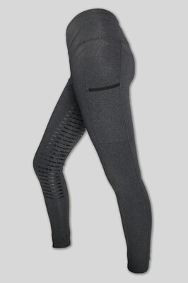 Top Reiter - BODYSHAPE GREY Riding Leggings