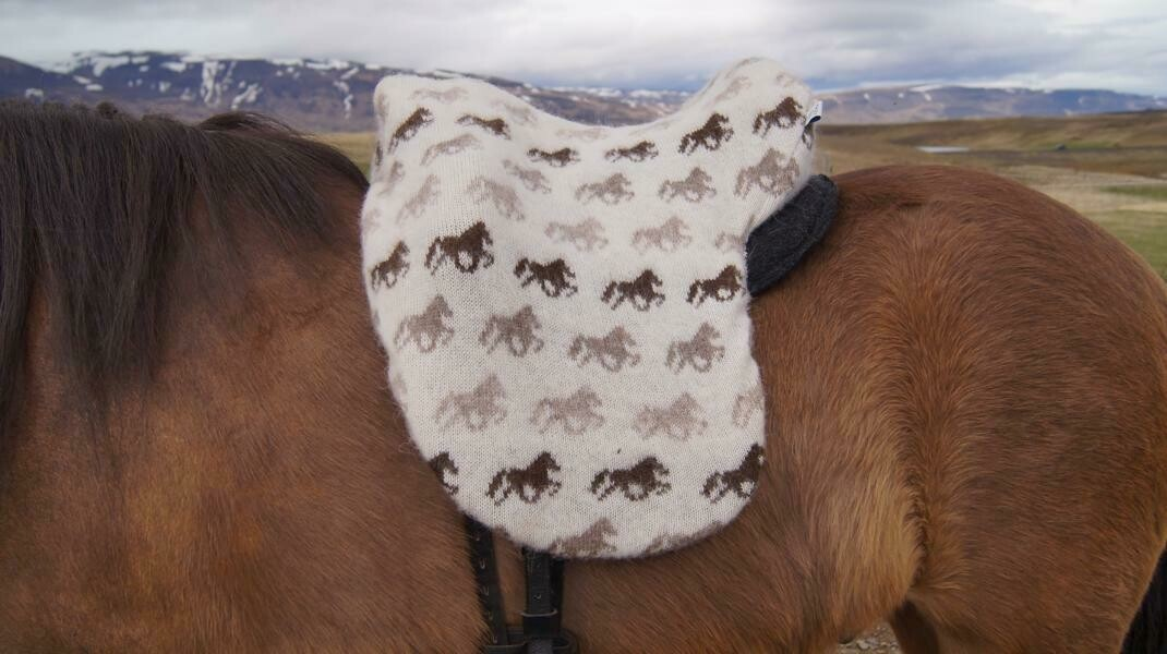 Kidka Icelandic Wool Saddle Cover