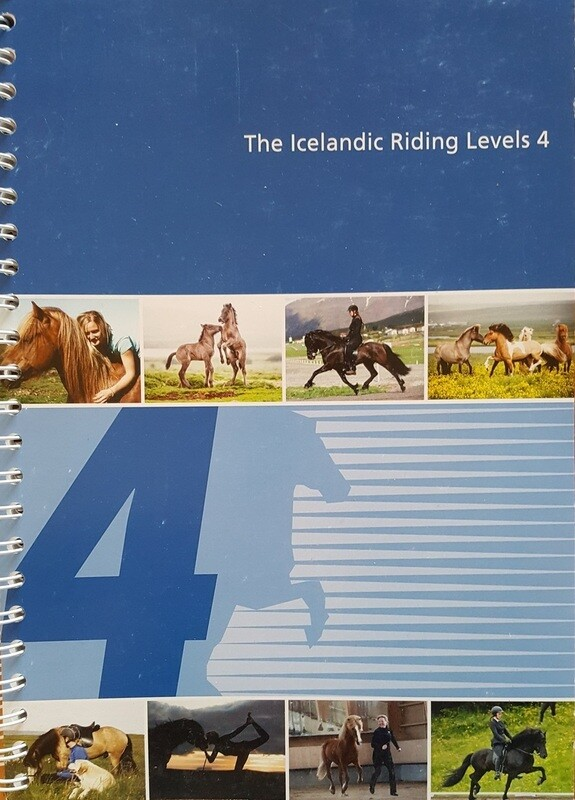 Knapamerki Icelandic Riding Levels 4