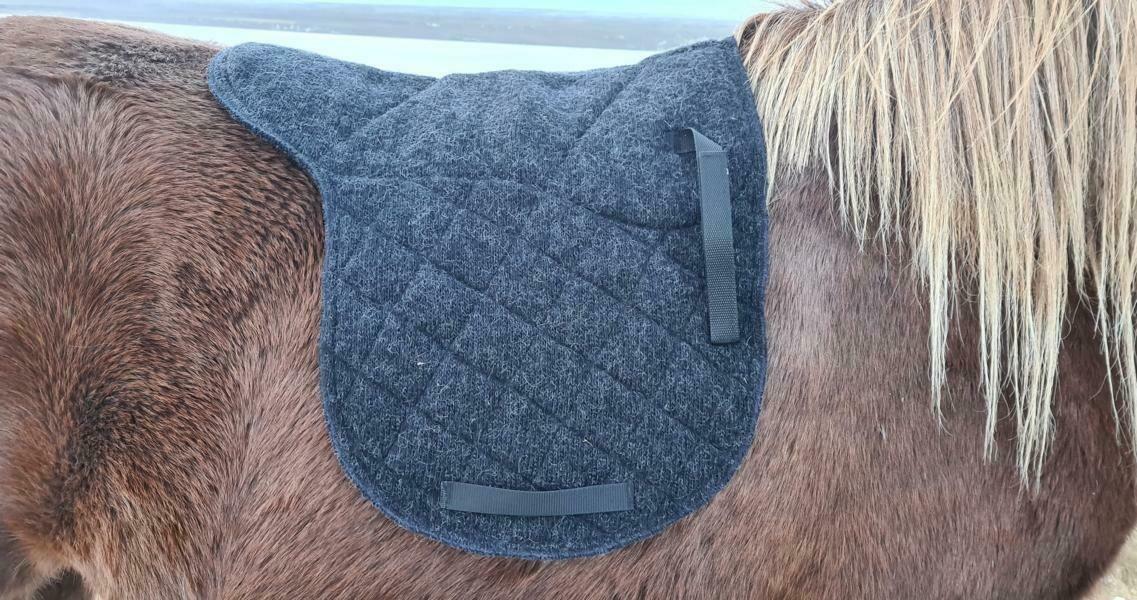 Kidka Icelandic Wool Saddle Pad DELUXE