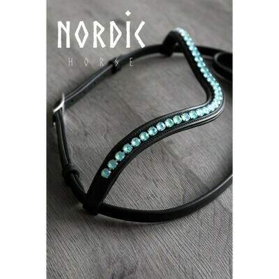 Nordic Horse Wave Browband