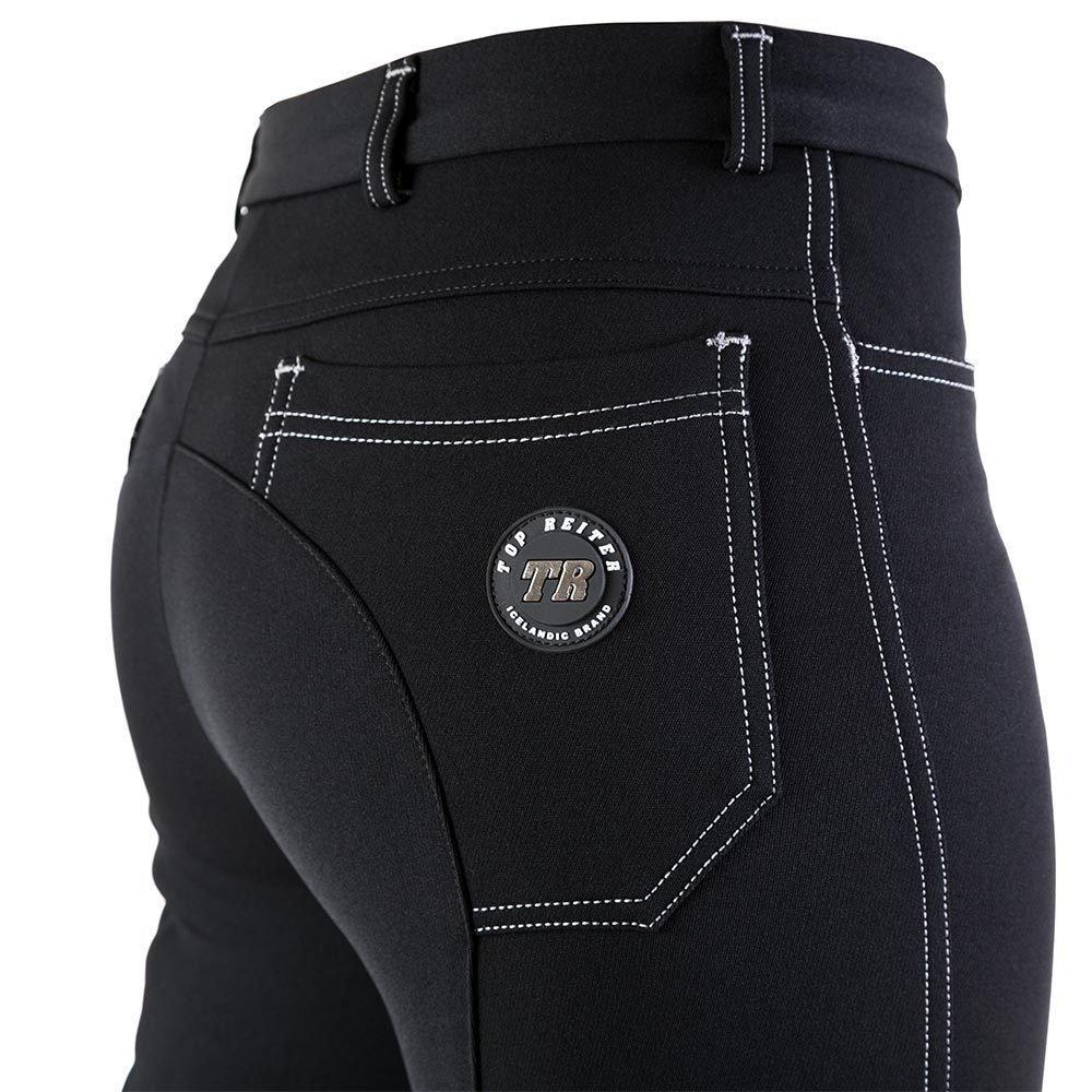 Top Reiter - POCKET Jodhpurs Grey Stitching