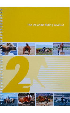 Knapamerki Icelandic Riding Levels 2