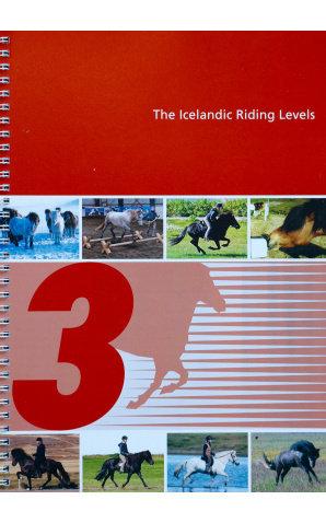 Knapamerki Icelandic Riding Levels 3