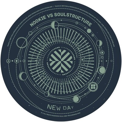 Nookie & SoulStructure / The Invisible Man - New Day / Skyliner (Tim Cant & SoulStructure Remix) SDEVNYL011