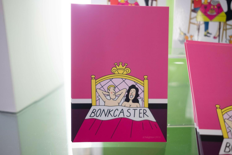 Bonkcaster Postcard