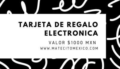 Tarjeta Electrónica Matecito
