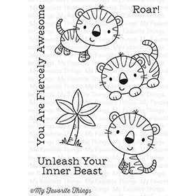 My Favorite Things FIERCE FRIENDS Clear Stamp Set