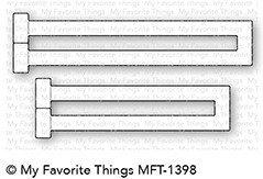 My favorite things TRIFOLD SLIDER Die