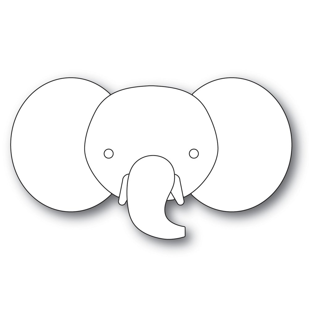 Simon Says Stamp BIG PICTURE BOOK ELEPHANT Die
