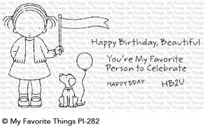 My favorite things BIRTHDAY BUDDIES Clear Stamp Set