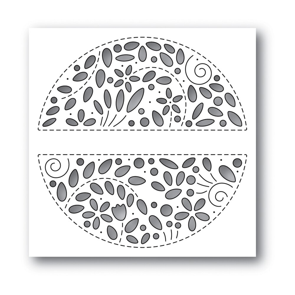 Simon Says Stamp FILIGREE MESSAGE Die