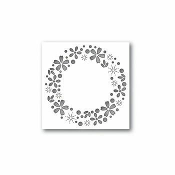 Simon Says Stamp FLORAL SPARKLE WREATH Die