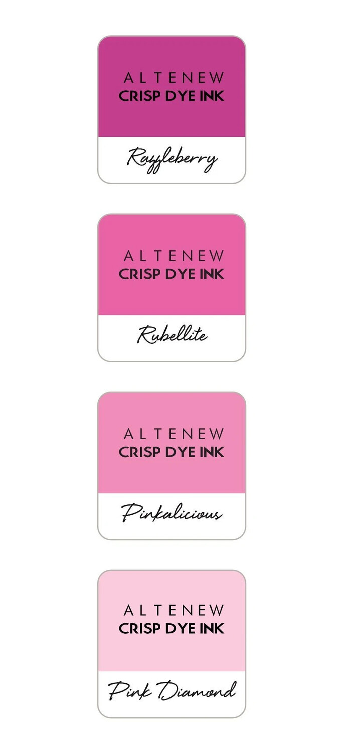 Altenew CHERRY BLOSSOM Mini Ink Cube Set