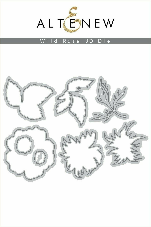 Altenew WILD ROSE 3D Die Set