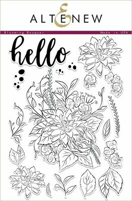 Altenew BLOOMING BOUQUET Clear Stamp Set