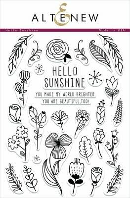 Altenew HELLO SUNSHINE Clear Stamp Set