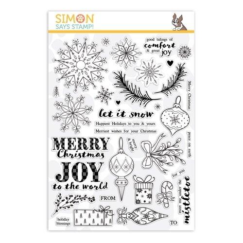 Simon Says Stamp COMFORT AND JOY Clear Stamp Set