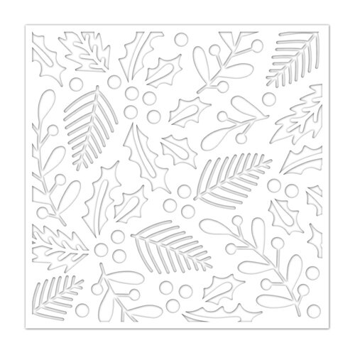 Simon Says Stamp HOLIDAY FOLIAGE Stencil