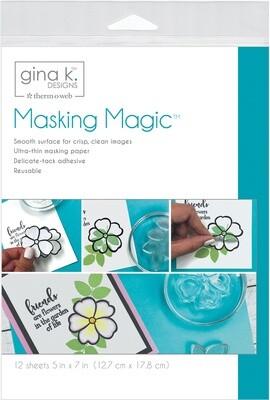 Gina K- Thermoweb MASKING MAGIC Sheets- 12/pack