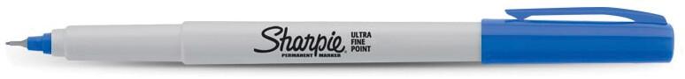 Sharpie BLUE Ultra Fine Permanent Marker