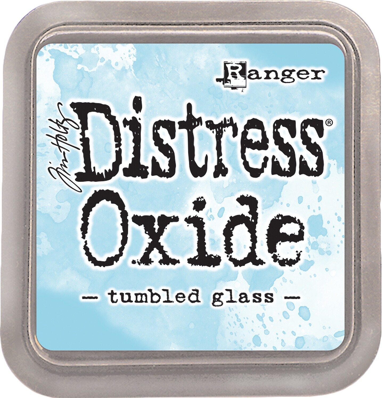 Tim Holtz Distress TUMBLED GLASS Oxides Ink Pad