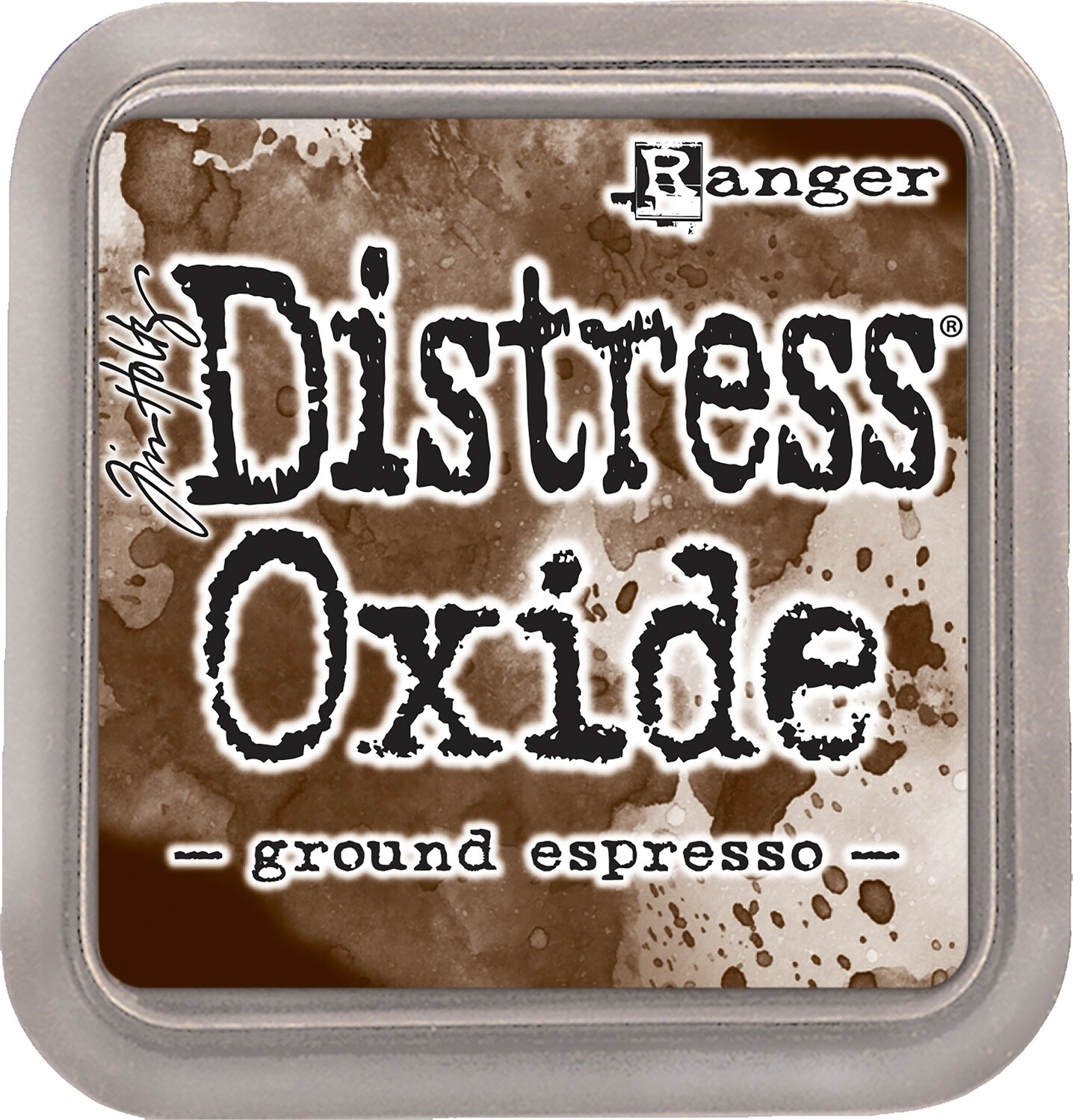 Tim Holtz Distress GROUND ESPRESSO Oxides Ink Pad