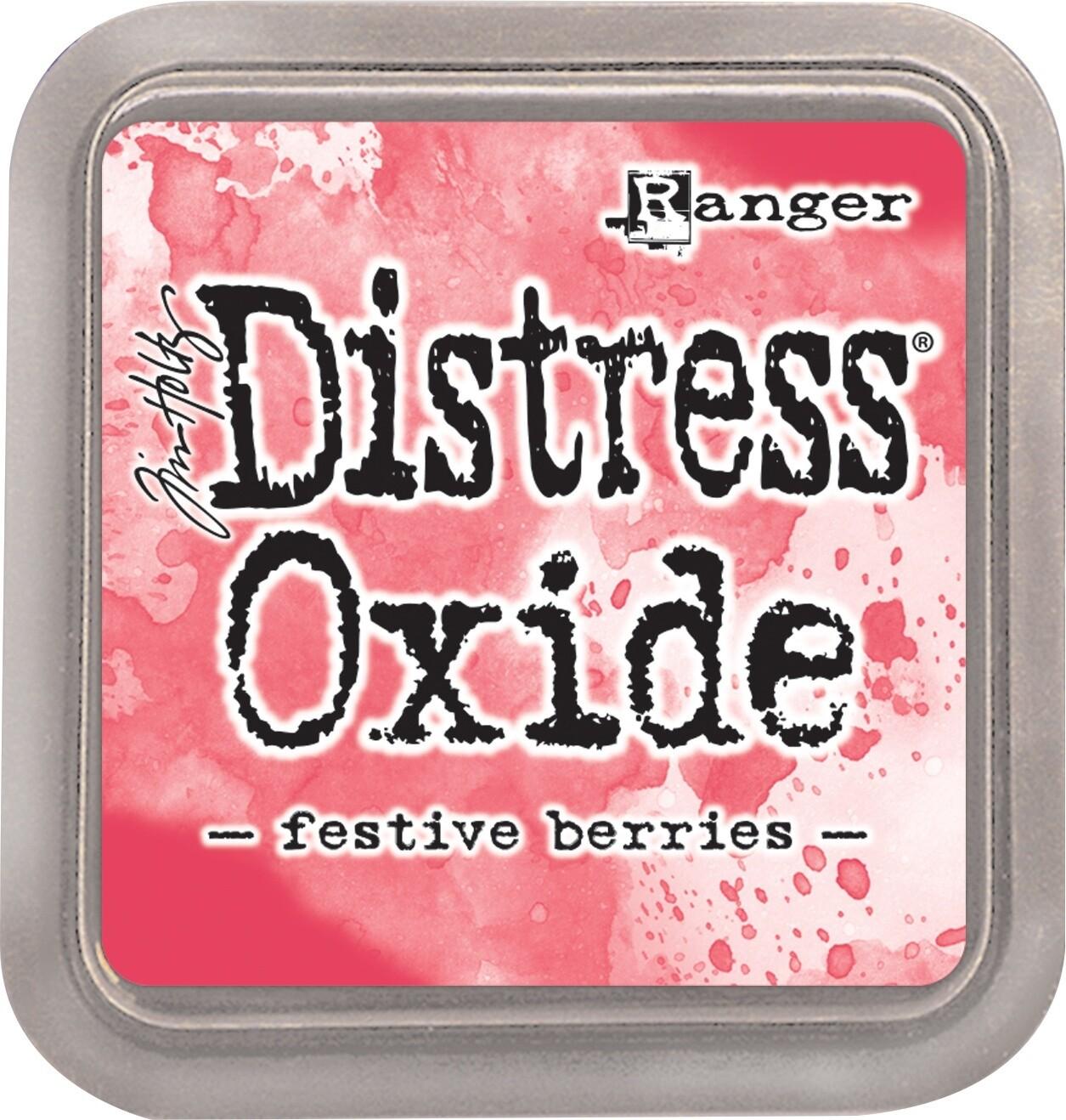 Tim Holtz Distress FESTIVE BERRIES Oxides Ink Pad