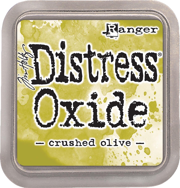 Tim Holtz Distress CRUSHED OLIVE Oxides Ink Pad