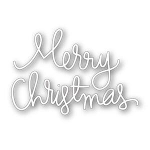 Simon Says Stamp MERRY CHRISTMAS Word Die