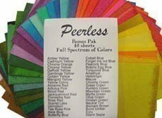 Nicholson's Peerless Transparent Watercolors BONUS PAK Small