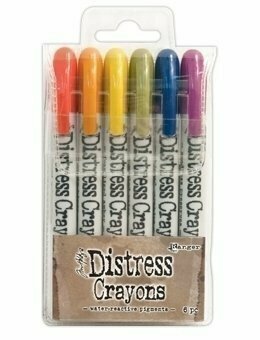 Ranger Tim Holtz DISTRESS CRAYONS Set 2
