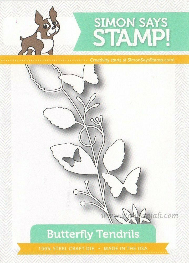 Simon Says Stamp BUTTERFLY TENDRILS Die
