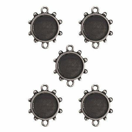 Spellbinders MEDIA MIXAGE CIRCLES 3 - 5PK - Silver