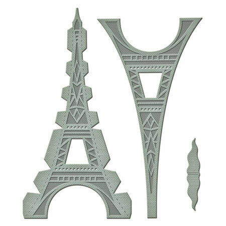 Spellbinders LE TOUR EIFFEL Shapeabilities A Gilded Life Die Set