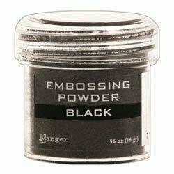 Ranger BLACK Embossing Powder 1oz