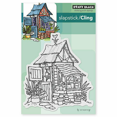 Penny Black POTTER'S SHED Cling Stamp