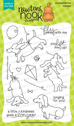 Newton's Nook DELIGHTFUL DOXIES Clear Stamp Set