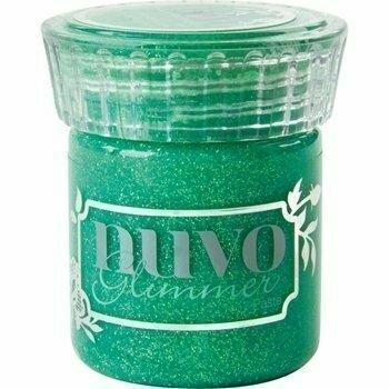 Nuvo PERIDOT GREEN Glimmer Paste