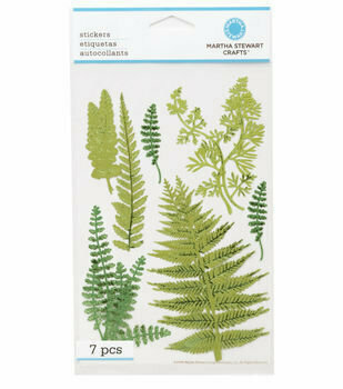 Martha Stewart Craft FERN Stickers