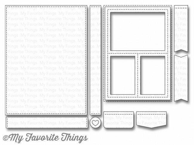 My Favorite Things BLUEPRINTS 29 Die-namics Die Set