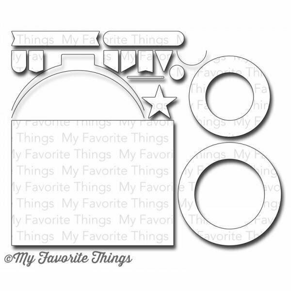 My Favorite Things BLUEPRINTS 16 Die-namics Die Set