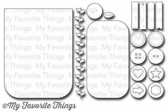 My Favorite Things BLUEPRINTS 10 Die-namics Die Set